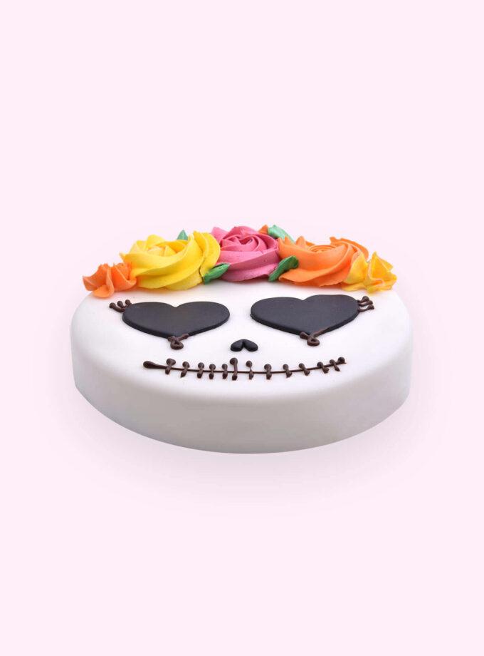 Halloween_Mexican Skull Cake 2