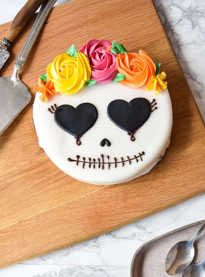 Halloween_Mexican Skull Cake