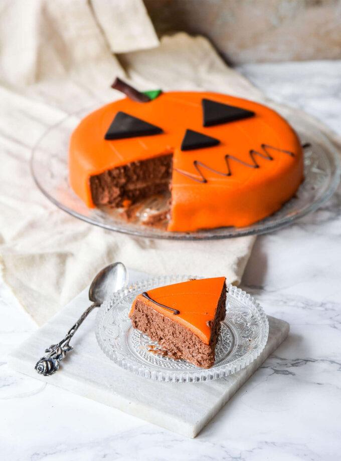 Halloween_Pumpkin Cake