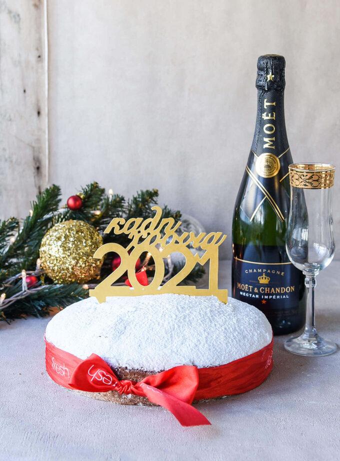 Fresh xmas2020_NYE - Champagne + Cake