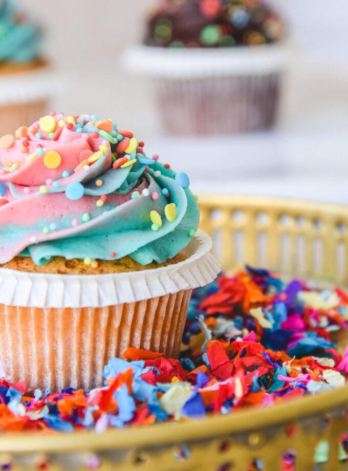 Apokries _ Carnival Cupcakes