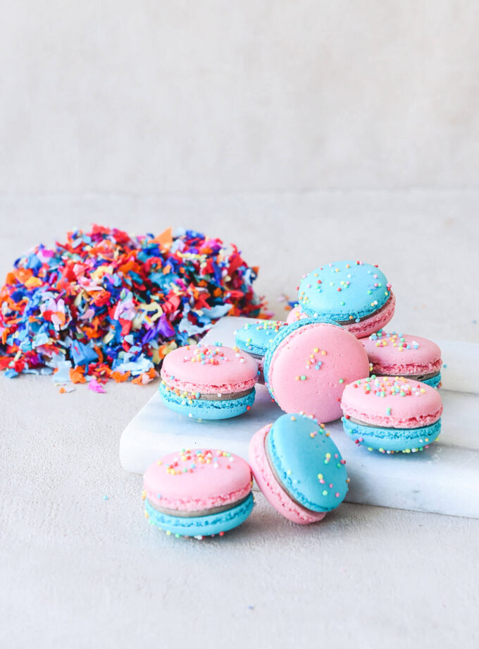 Apokries _ Carnival Macarons