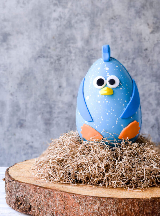 Easter 2021 Funny Bird - Blue