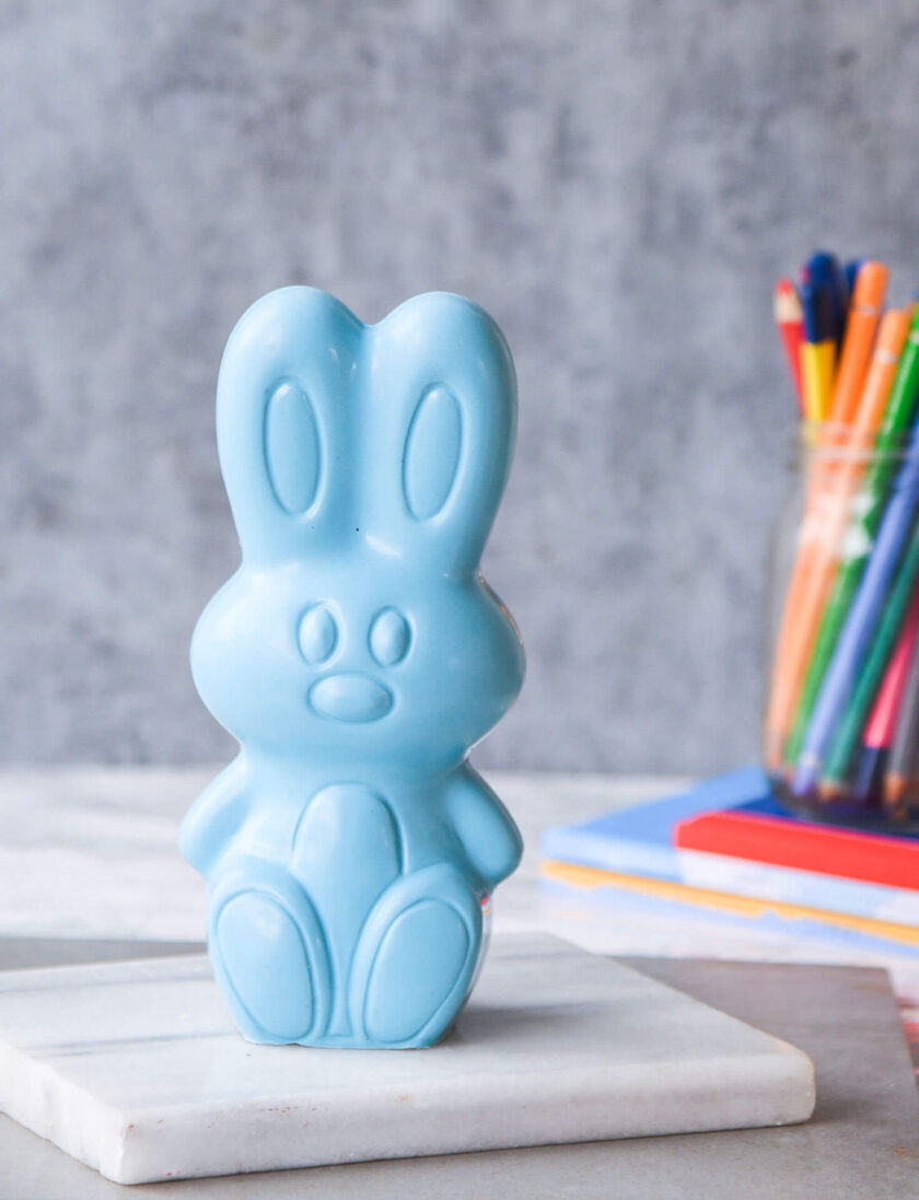 Blue Easter Bunny