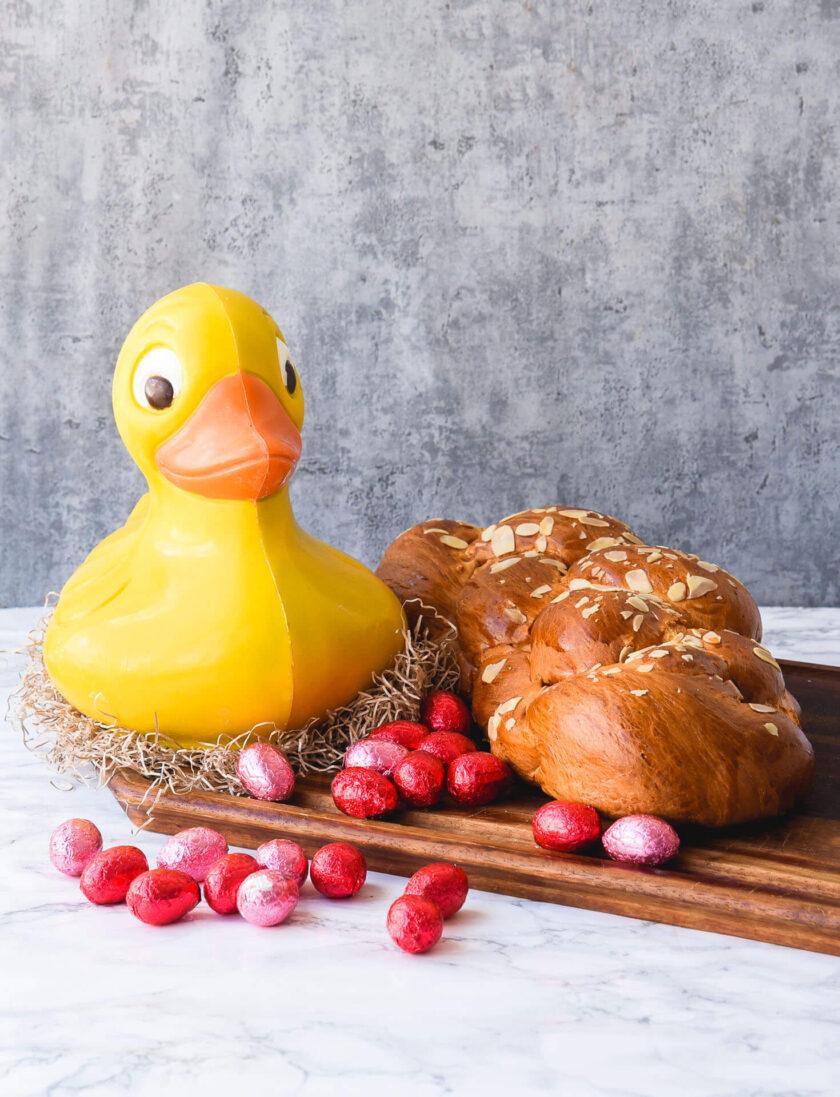 Duck + Tsoureki