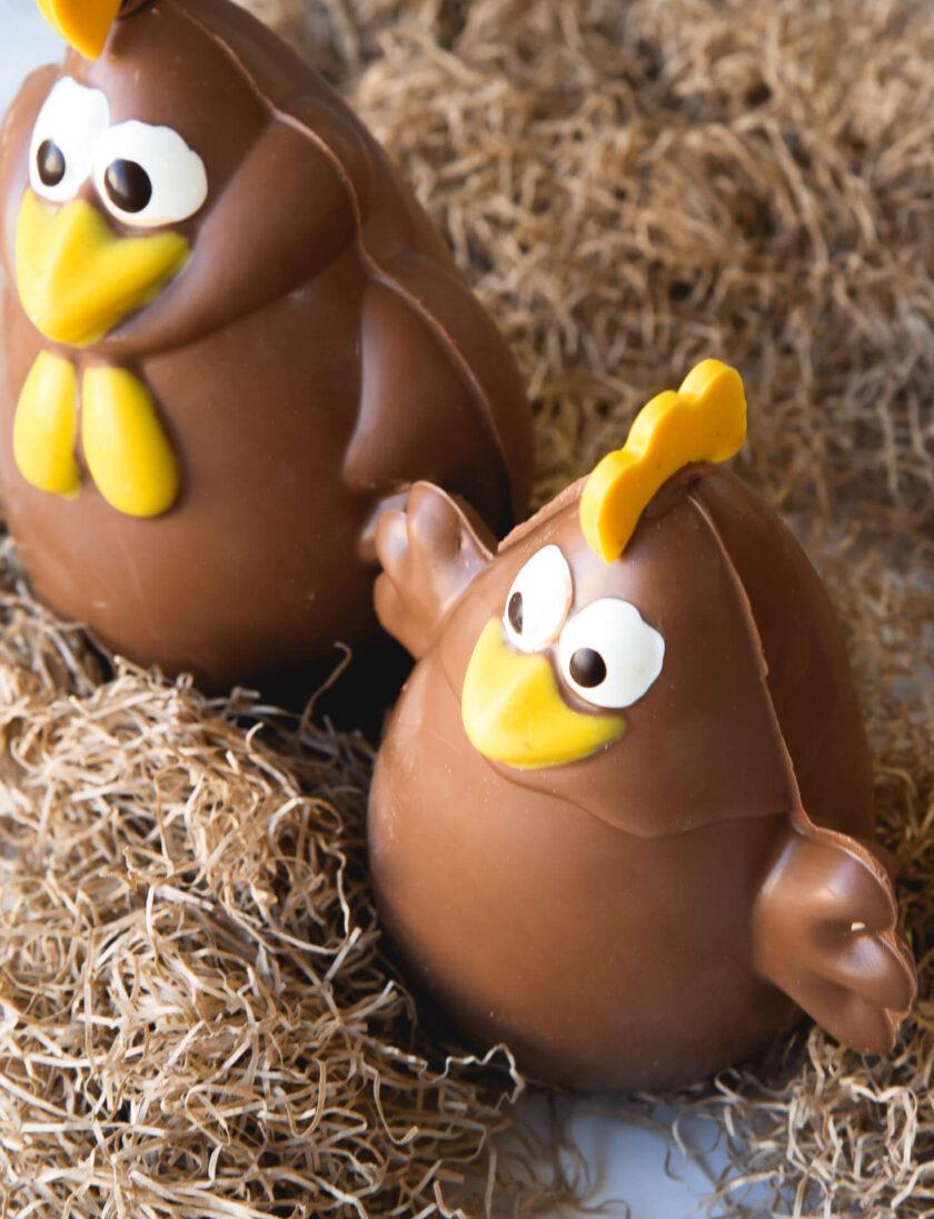 Rooster & Hen - Σοκολατένιες Φιγούρες