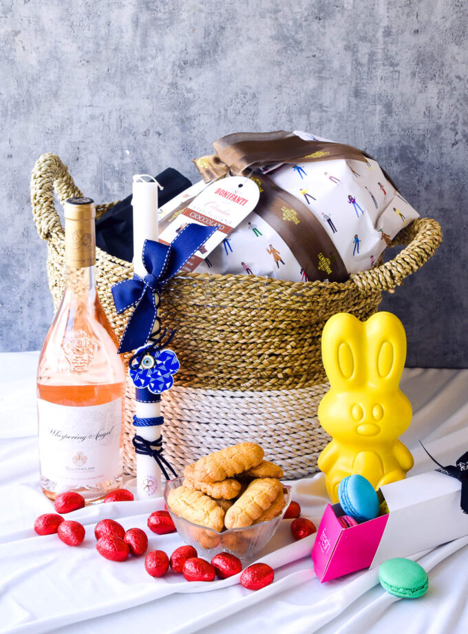 Easter Basket: Here's to a hoppin' good spring!