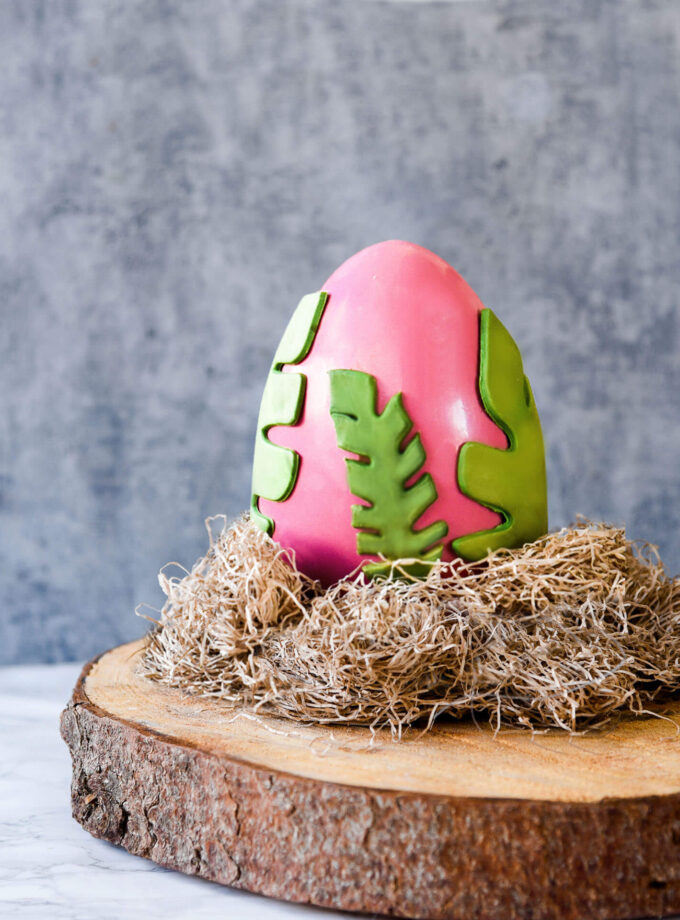 Tropical Chocolate Egg