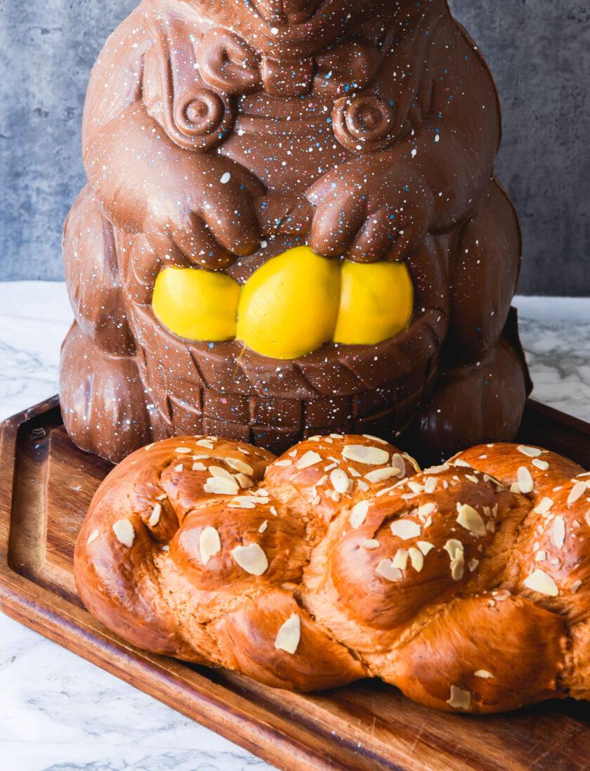 Giant Rabbit + Tsoureki