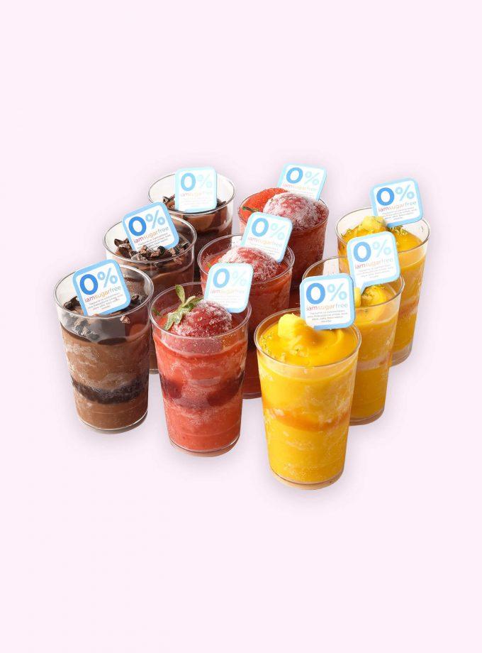 Summer 2021 0% Ice Cream Shots
