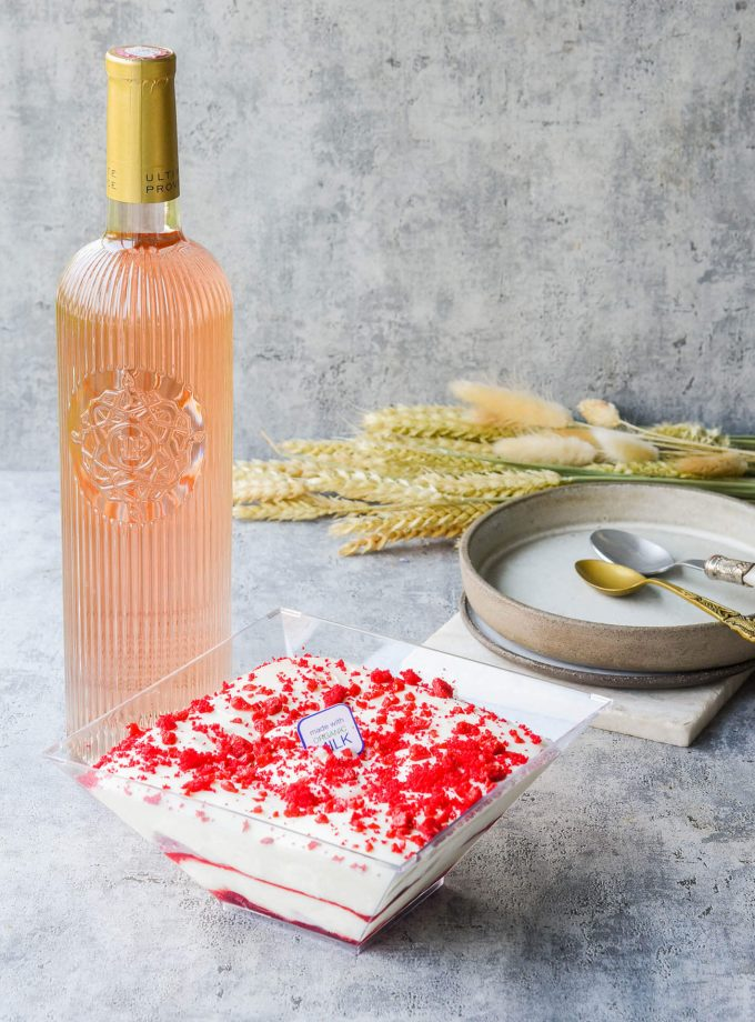 Red velvet Μπολ Παγωτού & Ultimate Provence 75cl