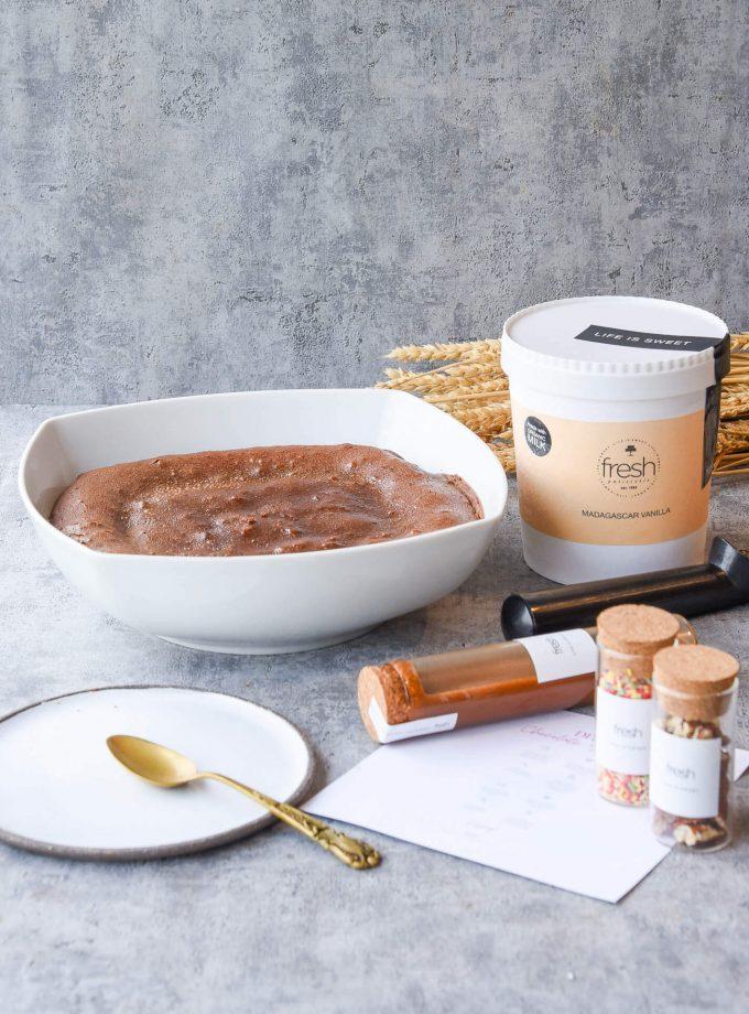 DIY Chocolate Soufflé